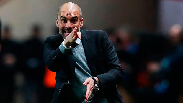 Pep Guardiola has received the backing of the Manchester City owners. Photo: Getty Images