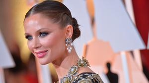 Designer Georgina Chapman arrives at the 87th Annual Academy Awards at the Hollywood & Highland Center on February 22, 2015 in Hollywood, California.  (Photo by Michael Buckner/WireImage)