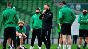 Ireland head coach Andy Farrell won't alter his game-plan for France on Saturday depending on Six Nations results elsewhere. Photo: Brendan Moran/Sportsfile