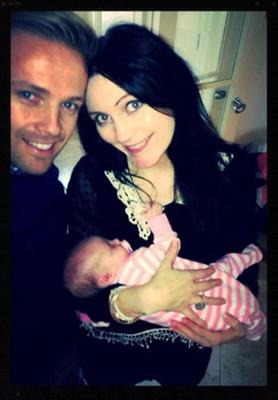 """SINGER turned TV presenter Nicky Byrne has released the first picture of himself with wife Georgina and their new baby girl Gia on Twitter.  """"Selfie Time With my two Girls! @Ggina AhernByrne and our Brand new little princess.. Gia"""""""