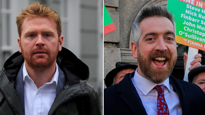 Family: Fianna Fáil TD Christopher O'Sullivan (right) has employed two sisters, while Gary Gannon (left) has employed his younger brother