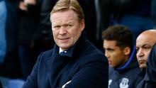 Everton manager Ronald Koeman. (Photo by Alan Martin/Action Plus via Getty Images)
