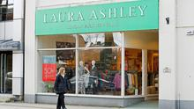 Laura Ashley Ireland Ltd, which is part of the Laura Ashley group and employs 76 people here, sought the winding-up order arising out of its UK parent's decision to enter administration there. Photo: Martin Rickett/PA