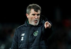 Roy Keane during his time as Ireland assistant manager. Picture: Reuters/Matthew Childs