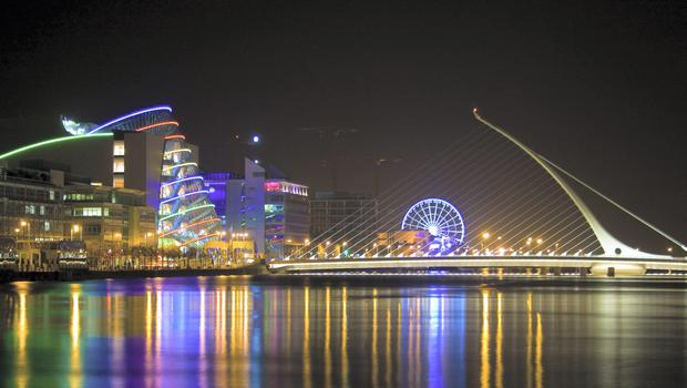 The index puts Dublin in seventh place globally