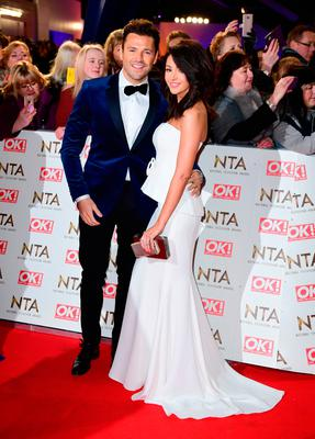 Mark Wright and Michelle Keegan arriving at the National Television Awards 2017, held at The O2 Arena, London.