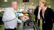 Don't wrap your Christmas presents if carrying them through security, Dublin Airport says.