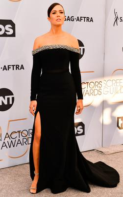 Mandy Moore arrives at the 25th Annual Screen ActorsGuild Awards at the The Shrine Auditorium on January 27, 2019 in Los Angeles, California. (Photo by Rodin Eckenroth/Getty Images)