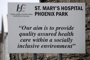 17/04/2020 St. Mary's Hospital, Phoenix Park, pictured this afternoon, which has recorded 11 Covid-19 related deaths over the past two weeks. Picture Colin Keegan, Collins Dublin