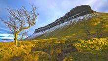 Ben Bulben in Sligo on a winter's day. Photo: Bill Costello