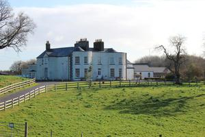 Character: Cornaher House stands on 160ac in Westmeath.