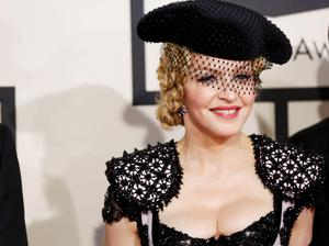 Singer Madonna arrives at the 57th annual Grammy Awards in Los Angeles, California February 8, 2015.