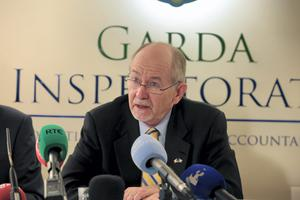 Robert K Olson, Chief Inspector at a Press Conference held by the Garda Inspectorate Picture:Arthur Carron