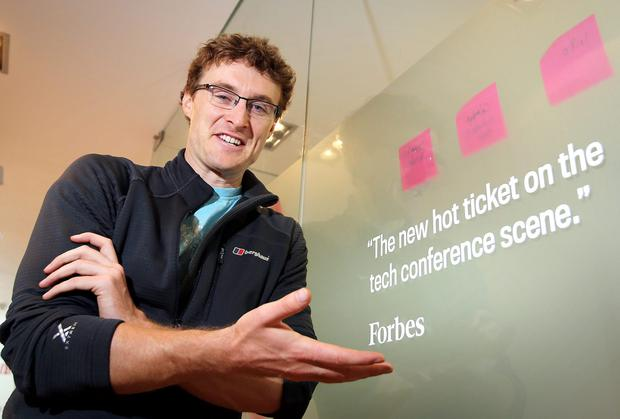 Web Summit founder Paddy Cosgrave