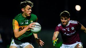 David Clifford of Kerry in action against John Daly of Galway. Photo: Diarmuid Greene/Sportsfile