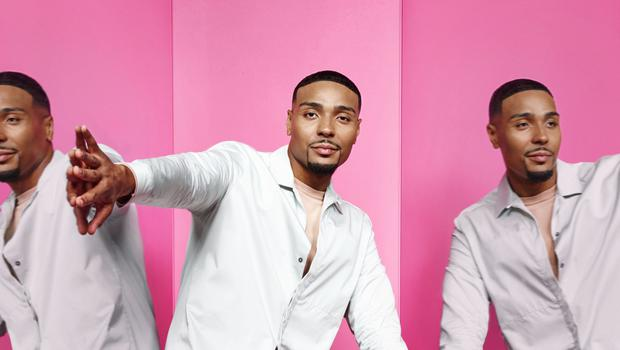 Jordan Banjo entertained viewers with his dramatic reactions on tonight's episode of The Greatest Dancer (David Ellis/Syco/Thames/BBC)