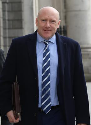 The LVA's Donnall O'Keeffe who has hit out at closures