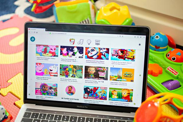 Limiting data collection: YouTube has moved to make its online platform safer for children. Photo: Bloomberg