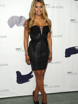 "NEW YORK, NY - JUNE 23: Actress Laverne Cox attends Logo TV's ""Trailblazers"" at the Cathedral of St. John the Divine on June 23, 2014 in New York City.  (Photo by Bryan Bedder/Getty Images for Logo TV)"