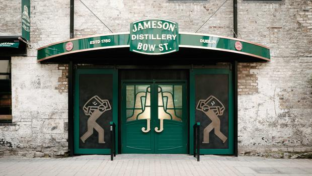 The newly reopened Jameson distillery in Smithfield, Dublin.