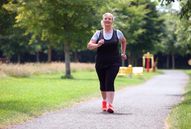 Mum-of-four Mary Coghlan has been leading walking groups of women for nearly 30 years. Photo: Damien Eagers