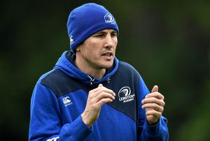 Despite Leinster's impressive home record, Dempsey has warned that Scarlets will be a dangerous proposition. SPORTSFILE