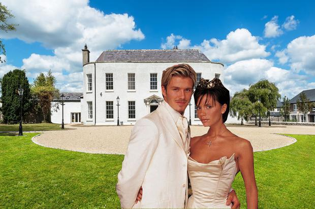 The property was once part of a great estate - that of the nearby Luttrellstown Castle, which hosted David and Victoria Beckham's wedding.