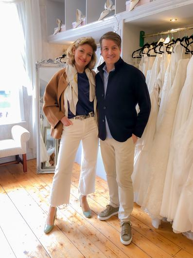 Expert wedding planners: Tara Fay and Bruce Russell