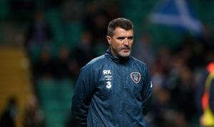 Republic of Ireland's assistant manager Roy Keane before the UEFA Euro 2016 qualifier at Celtic Park