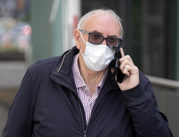 David Williams pictured at Blanchardstown District Court. Photo: Collins Dublin