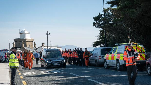 Guard of honour for Captain Mark Duffy in Mayo (Picture: Keith Heneghan)