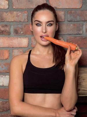 Roz Purcell usually eats every three-and-a-half hours. Photo: Kip Carroll.