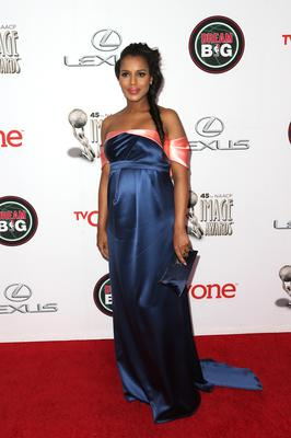Kerry Washington welcomed a daughter Issabelle this year