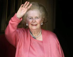 Baroness Thatcher. Photo: PA Wire