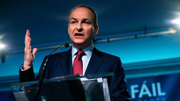 Taoiseach or toast: Fianna Fáil leader Micheál Martin faces a pivotal time in his leadership of the party. Photo: Brian Lawless/PA Wire