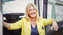 Verona Murphy, the Irish Hauler's Association president and a Fine Gael by-election candidate in Wexford.