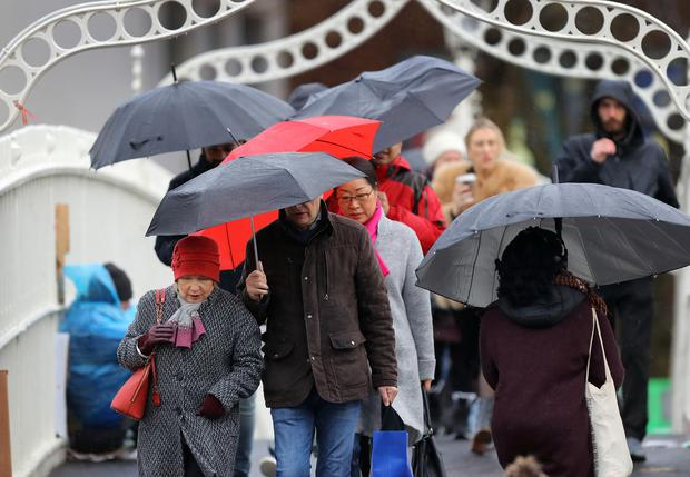 Met Eireann issues raft of weather warnings as Storm Brendan bears down