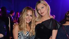 Caroline Flack (L) and Laura Whitmore attend the GQ Men of the Year Awards 2018