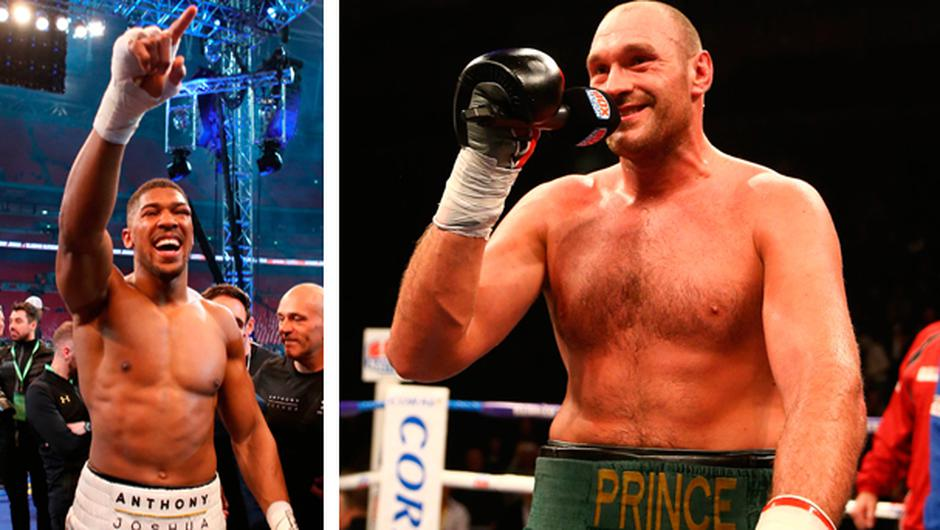 Anthony Joshua and Tyson Fury have agreed a two-fight deal, according to promoter Eddie Hearn