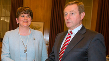 First Minister Arlene Foster and Taoiseach Enda Kenny Photo: Mark Condren
