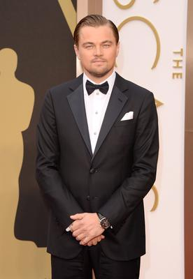 Actor Leonardo DiCaprio attends the Oscars