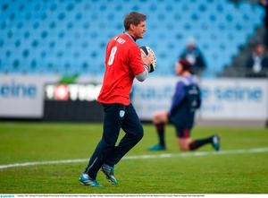 7 January 2017; Racing 92 coach Ronan O'Gara prior to the European Rugby Champions Cup Pool 1 Round 1 match between Racing 92 and Munster at the Stade Yves-Du-Manoir in Paris, France. Photo by Stephen McCarthy/Sportsfile