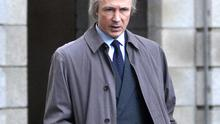 Aidan Gillen as Charles J Haughey in RTE's drama 'Charlie', the third and final episode of which aired last night.