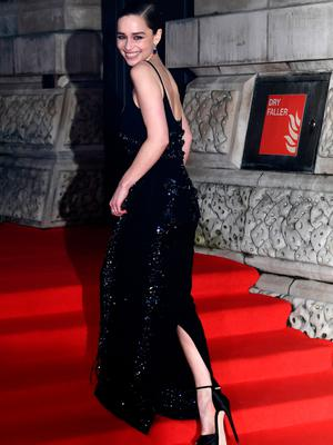 Emilia Clarke attends the EE British Academy Film Awards 2020 at Royal Albert Hall on February 02, 2020 in London, England. (Photo by Gareth Cattermole/Getty Images)