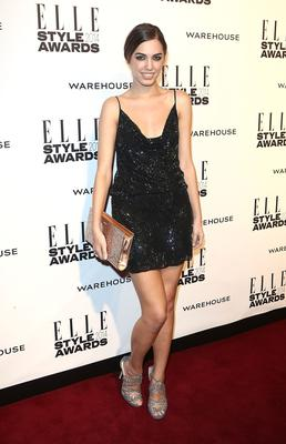 Amber Le Bon attends the Elle Style Awards 2014