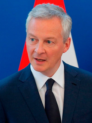 French Finance Minister Bruno Le Maire. Phloto: Philippe Wojazer/Reuters
