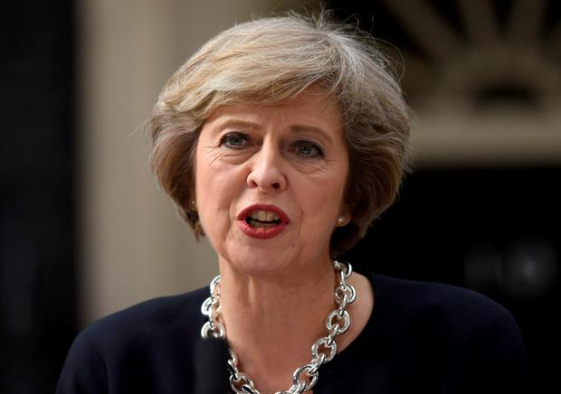 Mrs May has consulted government lawyers, who have told the prime minister she has the executive power to invoke Article 50 and begin the formal process of exiting the European Union without a vote. Photo: Hannah McKay/PA Wire