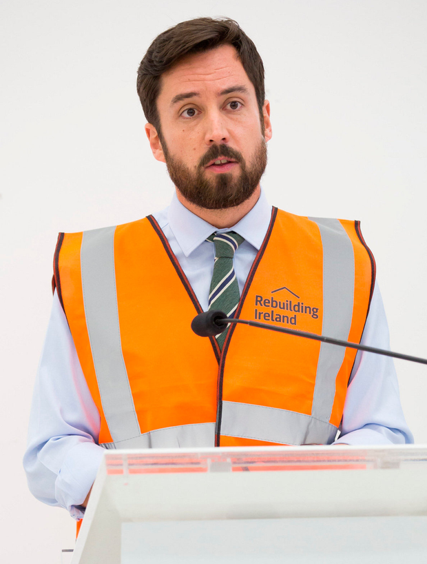 Housing Minister Eoghan Murphy. Photo: Keith Arkins