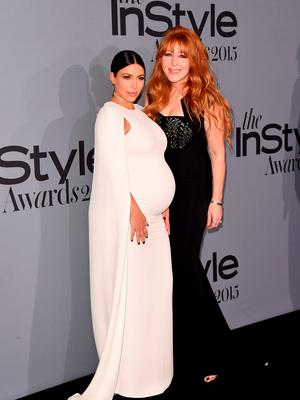 Television Personality Kim Kardashian (L) and Honoree Charlotte Tilbury attend the InStyle Awards at Getty Center on October 26, 2015 in Los Angeles, California.  (Photo by Jason Merritt/Getty Images for InStyle)