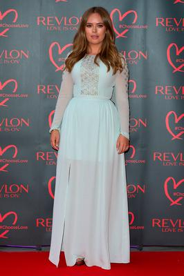 Tanya Burr arrives for the Revlon Choose Love Masquerade Ball  at Victoria and Albert Museum on July 21, 2016 in London, England.  (Photo by Ben A. Pruchnie/Getty Images)